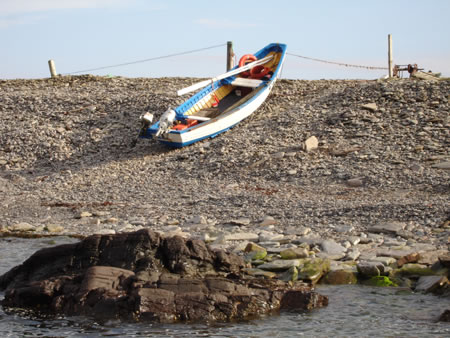 North Ronaldsay Boat - Photograph by Craig Smith