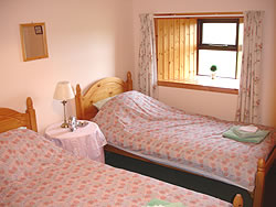 Twin Bedroom in North Ronaldsay, Orkney